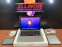 ✿ Apple MacBook Pro 13 ✿ Quad i7 TURBO 2.8ghz ✿ 16GB RAM  500GB SSD ✿ WARRANTY