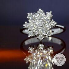 Wert 2.900,- Brillant Ring Lupenrein Wesselton 1,00 Carat punziert 585 Gold