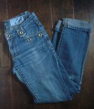 Womens Mexx Denim Blue Jeans Size 4 Distressed