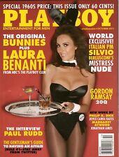 Playboy October 2011 / Original Bunnies / Laura Benanti / Gordon Ramsay Int.