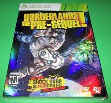 Borderlands: The Pre-Sequel Microsoft Xbox 360 w/Cover! New-Sealed-Free Ship!