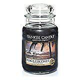 Bougies et chauffe-plats de décoration intérieure noirs Yankee Candle