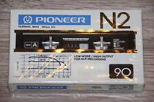 PIONEER  N2   90   BLANK CASSETTE  TAPE  (1)     (SEALED)