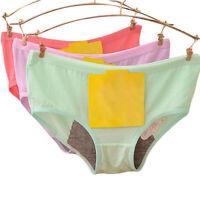 Women's Panties Menstrual Period Underwear Cotton Leakproof Waterproof One Size