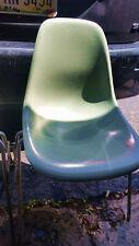 4 Eames SeaFoam Green Fiberglass Shell Side Chair HERMAN MILLER CINCY MILICRON