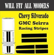 Gmc Seirra Chevy Silverado Racing Stripes Vinyl Decal Sticker Truck All Models