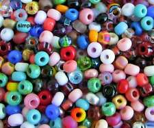 6/0 Czech Assorted Colors Glass Seed Beads 150