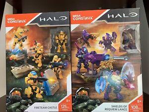 1 Choice Of Mega Bloks Halo Mega Construx FireTeam castle OR Shields of Requiem