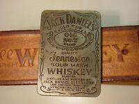 Vintage Jack Daniels Gürtelschnalle k 190 Emaille SELTEN