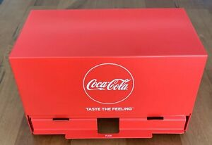 Coca-Cola Large Metal Drinking Straw Dispenser Collectors Item BRAND NEW