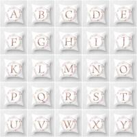 Letter Polyester Cushion Cover Pillow Case Waist Throw Home Sofa Decor Eyeful