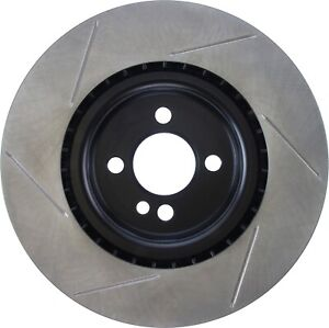 StopTech For 2009 - 2015 Mini Cooper Disc Brake Rotor Front Left - 126.34114SL