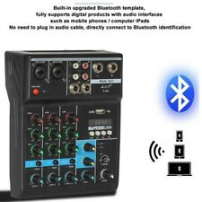 More details for professional bt music mixer audio mixing dj console reverb effect for ktv