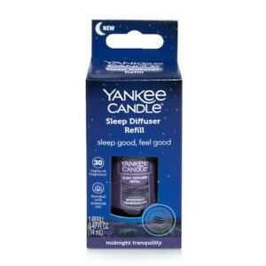 NEW Yankee Candle Midnight Tranquility Sleep Diffuser Oil