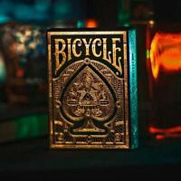 Premium Elite Playing Cards Gold Foil Case Linen Luxury Deck