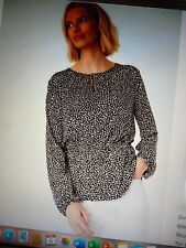 M&S Size 18  Ladies Animal Print Long Sleeve Tunic Blouse BNWT MARKS AND SPENCER