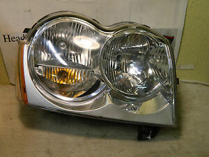 JEEP GRAND CHEROKEE 2005-2007 RIGHT/PASS SIDE OEM HEADLIGHT #55156350AJ
