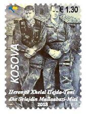 Kosovo Stamp 2018. Army Heroes - Toni & Mici. Set MNH