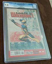 SAVAGE WOLVERINE #1 CGC 9.8 X-Men Frank Cho Cover RARE