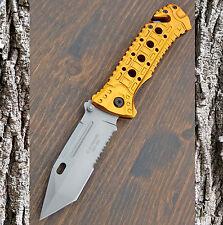 HERBERTZ -  Einhandmesser - Taschenmesser - Messer -  RETTUNGSMESSER - 230111