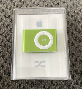 Apple iPod Shuffle 2nd Generation 1GB Bright Green MB815LL/A *SEALED* A1204 New
