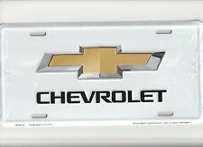 CHEVROLET Chevy Emblem  Novelty Auto Tag Car Metal Automobile License Plate