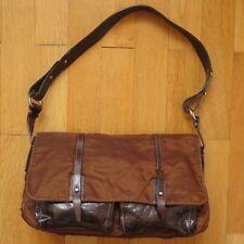 FRANCESCO BIASIA BROWN SHOULDER BAG | Handbag Single Strap Small