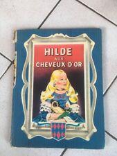 Livre Hilde aux cheveux d'or 1952 Bib Rouge & Bleue L11