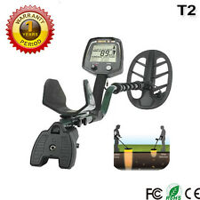 NEW  long range T2 metal detector gold finder hunter Professional Adjustable