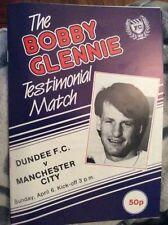 Dundee Football Testimonial Fixture Programmes (1980s)