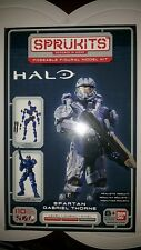 Sprukits Poseable Figural Model Kit Bandai Halo Spartan Gabriel Thorne