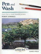 Pen and Wash by Robert Jennings NEW Art Paint Draw Watercolour Book