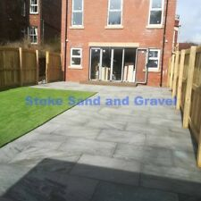 Kandla Grey 900x600 19.50m2 Natural Indian Stone Paving Mixed sized silver 3x2