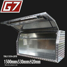 1500x530x820 Aluminium toolbox ute checker plate tool box truck storage Full 9