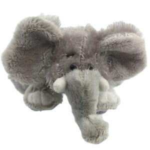 Ganz Webkinz Lil' Kinz Elephant HS007 Plush Stuffed Animal 8 Inches Long Gray