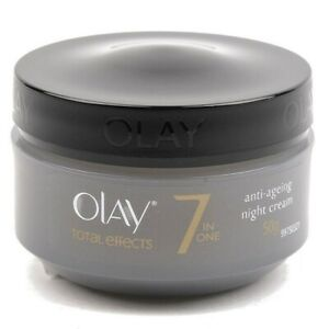 Olay Total Effects 7 in One Anti-Aging Face & Neck Night Cream, 1.7 oz