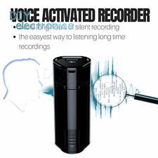 8/16/32G Mini Digital Spy Audio Voice Recorder Dictaphone Recording Device US