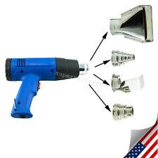Hot Air Heat Gun Blower 1500W 500°C RemovingPaint Tool & 4 Nozzles 110V/220V US