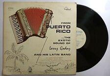 Larry Godoy Latin Band Exotic Sound  Puerto Rico VAGABOND LG-1001 VG+ LP#1425