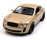 Bentley Continental Supersports D'or Maquette de Voiture Auto Échelle 1:3 4