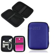 2.5 Zoll HDD Hardcase Tasche für externe Festplatte Schutzhülle für PC in Blau