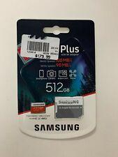 NEW Samsung EVO Plus 512GB microSDXC UHS-I Memory Card MB-MC512HA/AM