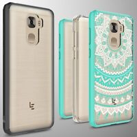 For LeEco Le Pro 3 Case Hard Back Soft Bumper Hybrid Slim Thin Phone Cover