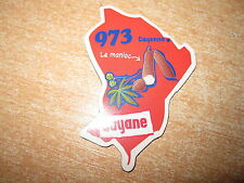 LE GAULOIS AIMANT DEPART'AIMANTS / DEPARTEMENTS GUYANE 973 CAYENNE RARE