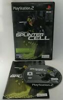 Tom Clancy's Splinter Cell Video Game for Sony PlayStation 2 PS2 PAL TESTED