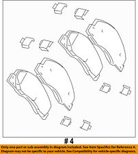 CHRYSLER OEM Brake-Front Pads 68049148AA