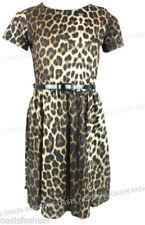 Vêtements noir à manches courtes en polyester pour fille de 2 à 16 ans