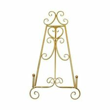 Wedding Easel Stand Gold Picture Display Lightweight Metal For Table 23 x 46cm