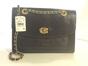 NWT COACH  Style No:31636 Parker Shoulder Bag in Patent Leather ~MSRP$350