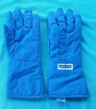 Cryogen Safety Gloves - Grainger Part 2AEY7 Water Resistant Size Large, Blue New